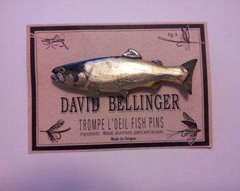 Salmon Fish Pin 230