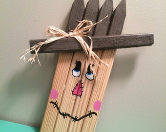 Whimsical scarecrow