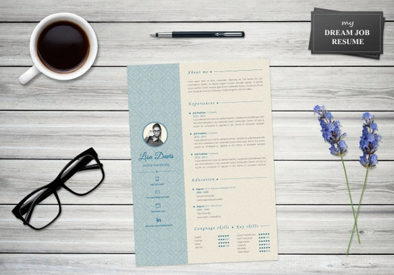My Dream Job Resume Template Cover Letter