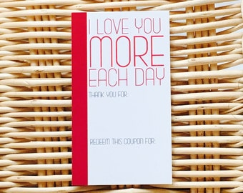 Cute Romantic Coupons, Love Coupons, Love Notes. Anniversary Gift Ideas, Gift for husband, wife, boyfriend. girlfriend, him, her