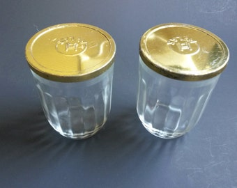Duraglass vintage jelly jars
