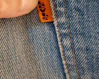 Levis Jeans Orange Tag