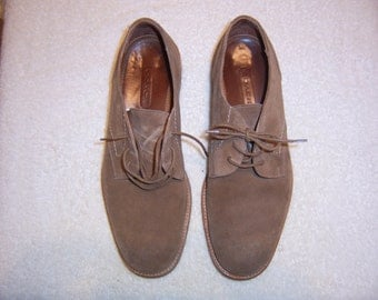 Men's Suede Oxfords by Coach