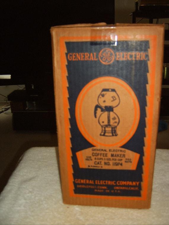General Electric Coffee Maker Error 5 : Vintage Collector Vacuum Coffee Maker by General Electric