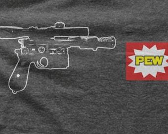 Star Wars T-shirt - Han Solo Blaster - Pew Pew