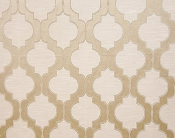 Upholstery/Drapery Jacquard Fabric Santana 400 Quartz By The Yard