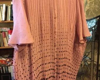 Pink blouse size 4x