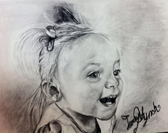 Arden's Custom Charcoal Drawings