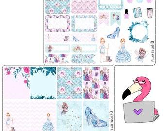 Glass Slipper - Weekly Mini Kit Planner Stickers