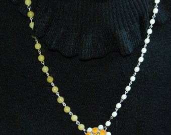 """Necklace """"solar richness"""""""