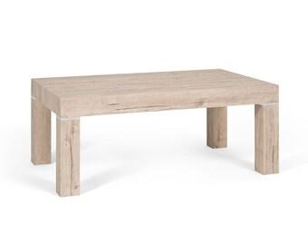 Coffee Table, Sherwood Oak , Minimal Style