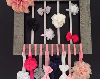 Headband and Hair Clip Organizer