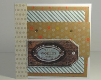 Hand Made Card for Males