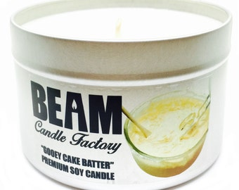 Gooey Cake Batter Soy Candle