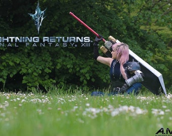 Lightning DLC Armor - Final Fantasy XIII Prints