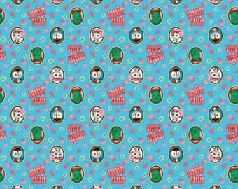 Disney Fabric Sheriff Callie Fabric Callie Badge Fabric by Springs Creative