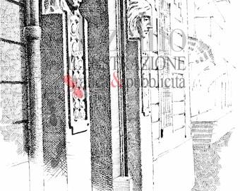 Liberty in Brescello-original black and white Reproduction in china, print view, Brescello