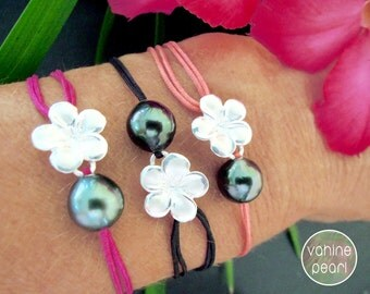 Tahitian Pearl Bracelet, Tahitian Pearl, Pearl Bracelet, Bracelet perle de Tahiti, Perle de Tahiti, Fine Jewelry, Pearl Jewelry, Bijou perle