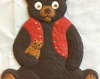 Customizable Bear Ornament