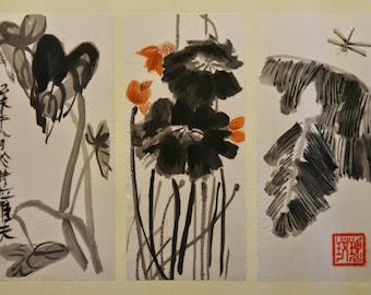 Trio of Leaf Studies