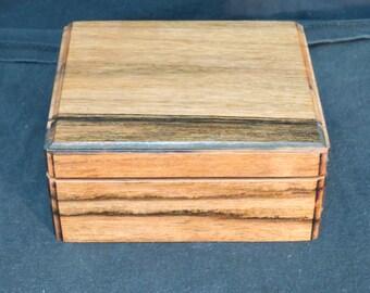 Macassar Ebony jewelry box
