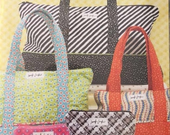 Quilted Bags for Everything Jennifer Jangles Sewing Pattern