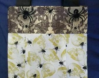 Skulls and Spiders Handbag