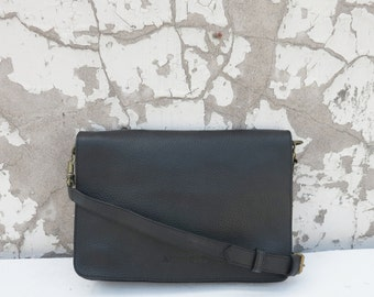 BINA Leather Clutch (with detachable strap) in 4 colours
