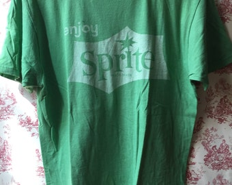 T-shirt Sprite Lime green size M