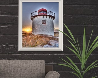 Sunset At The Lighthouse ~ A Photographer's Eye ~ Print* by Hiraeth Crafts / Gelert Photography