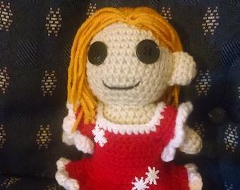 Crochet Christmas Doll