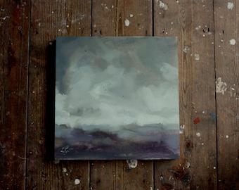 Through the Mist, original oil painting
