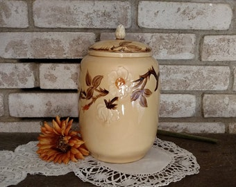 Franciscan Cafe Royal Cookie Jar Canister