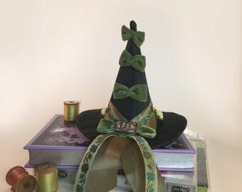 Emerald Mini Witch Hat