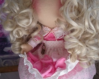 Pink Lucy doll