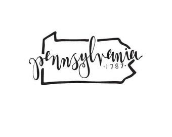 Pennsylvania - printable download
