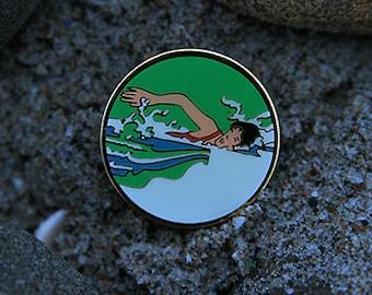 Swimmer Pin