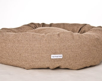 LINCOLN: TWEED Luxury Donut Bed