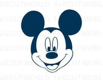 Mickey Svg, Disney Svg, use with Cricut & Silhouette