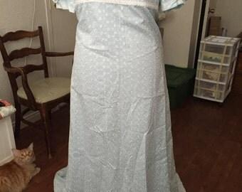 Edwardian Era Tea Gown