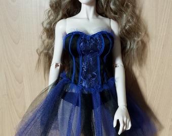 bjd doll burlesque corset set 1/3 iplehouse eid