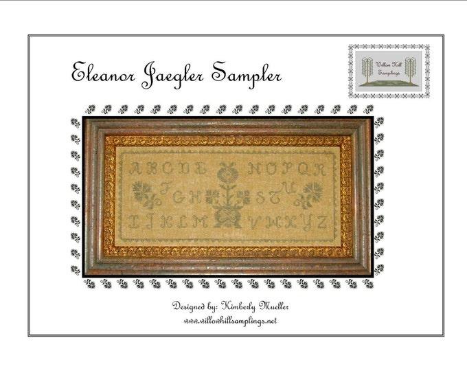 Eleanore Jaegler Quaker Style Sampler Pattern