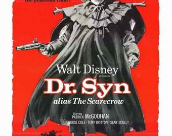 Dr. Syn, Alias The Scarecrow (1963) - Patrick McGoohan  DVD
