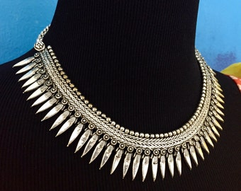SALE on Pure German Silver Necklace