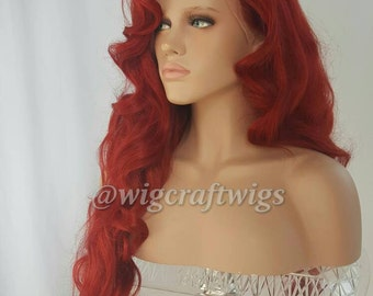 "Cherry Bomb                                                     30"" from Crown Lace Front"