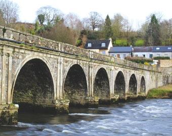 Bridge in Inistioge, Ireland - Photography Print