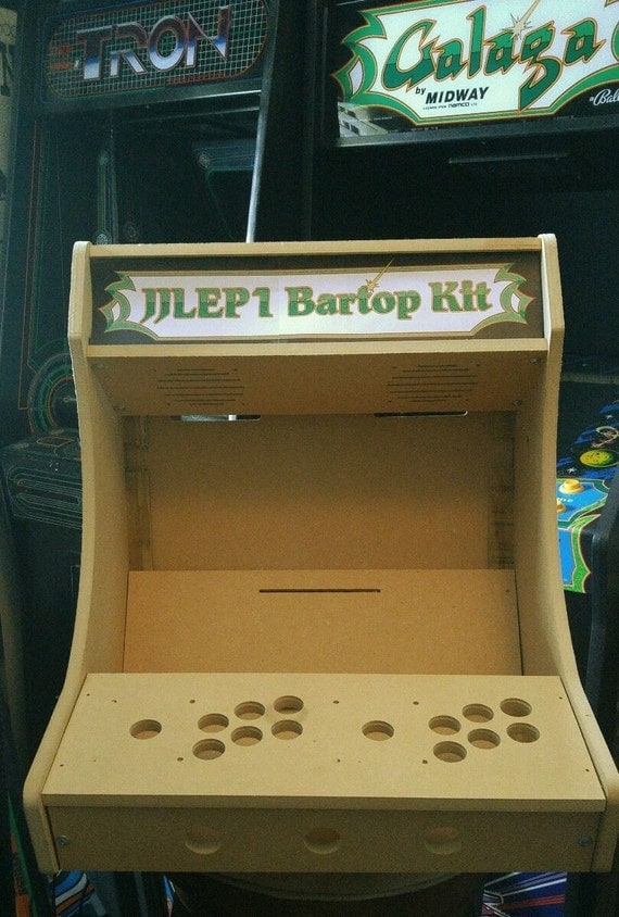 1 Or 2 Player Original Bartop Tabletop Arcade