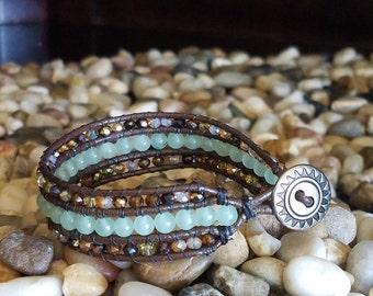 Layered Beaded Bracelet