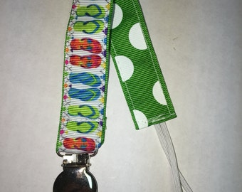 Summer pacifier holder