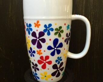 Feeling Groovy Large Latte Cup